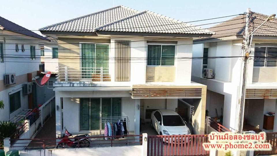 บ้านเดี่ยว 2 ชั้น มบ.กีรดา ต.แสนสุข อ.เมืองชลบุรี จ.ชลบุรี