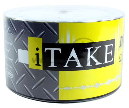 iTake DVD-R 16X Printable (50 pcs/Plastic Wrap)
