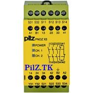 PilZ 774315 PNOZ X3 115VAC 24VDC 3n/o 1n/c 1so aT www.PILZ.TK