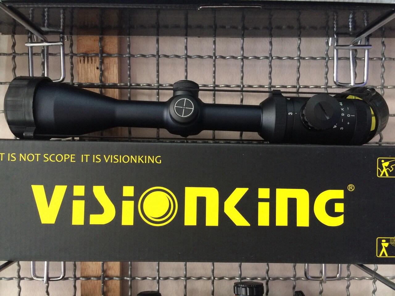 New.Visionking3- 9x44riflescopesขอบเขตปืนยาวสว่างmonotubeสำหรับการล่าสัตว์ทหาร1นิ้วสำหรับar15m16m4reticle ราคาพิเศษ