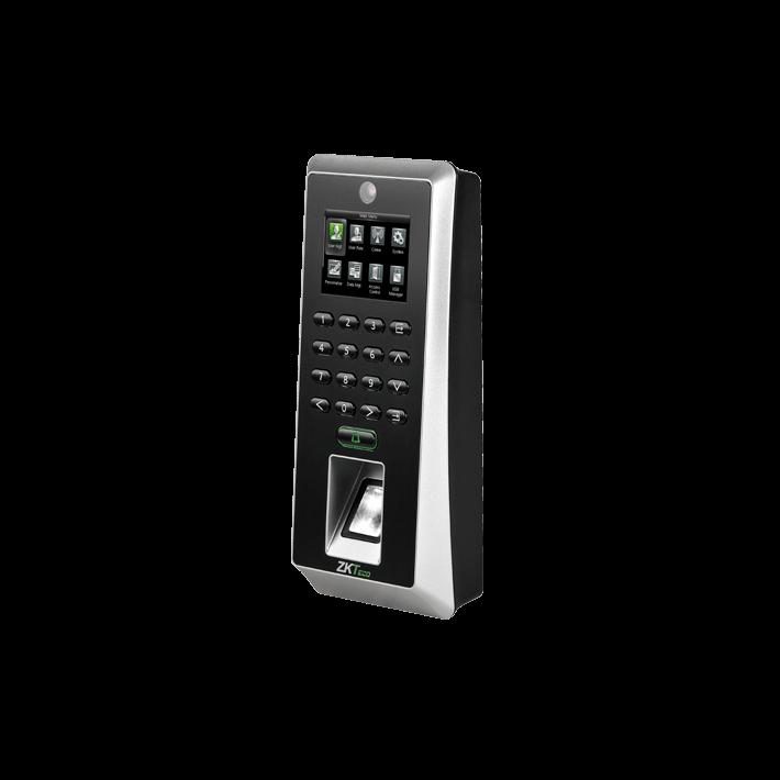แสกนลายนิ้วมือ สามารถควบคุมประตูได้ ยี่ห้อ ZKTECO รุ่น ZK-F21