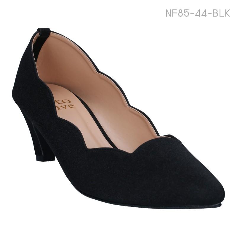 ลดล้างสต๊อก รองเท้าส้นเตี้ย NF85-44-BLK [สีดำ]