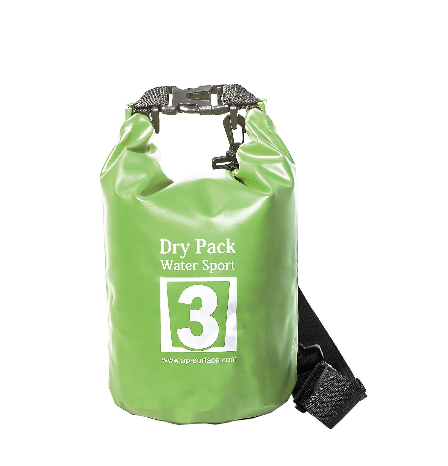 กระเป๋ากันน้ำ Dry pack 3L- สีเขียวทหาร