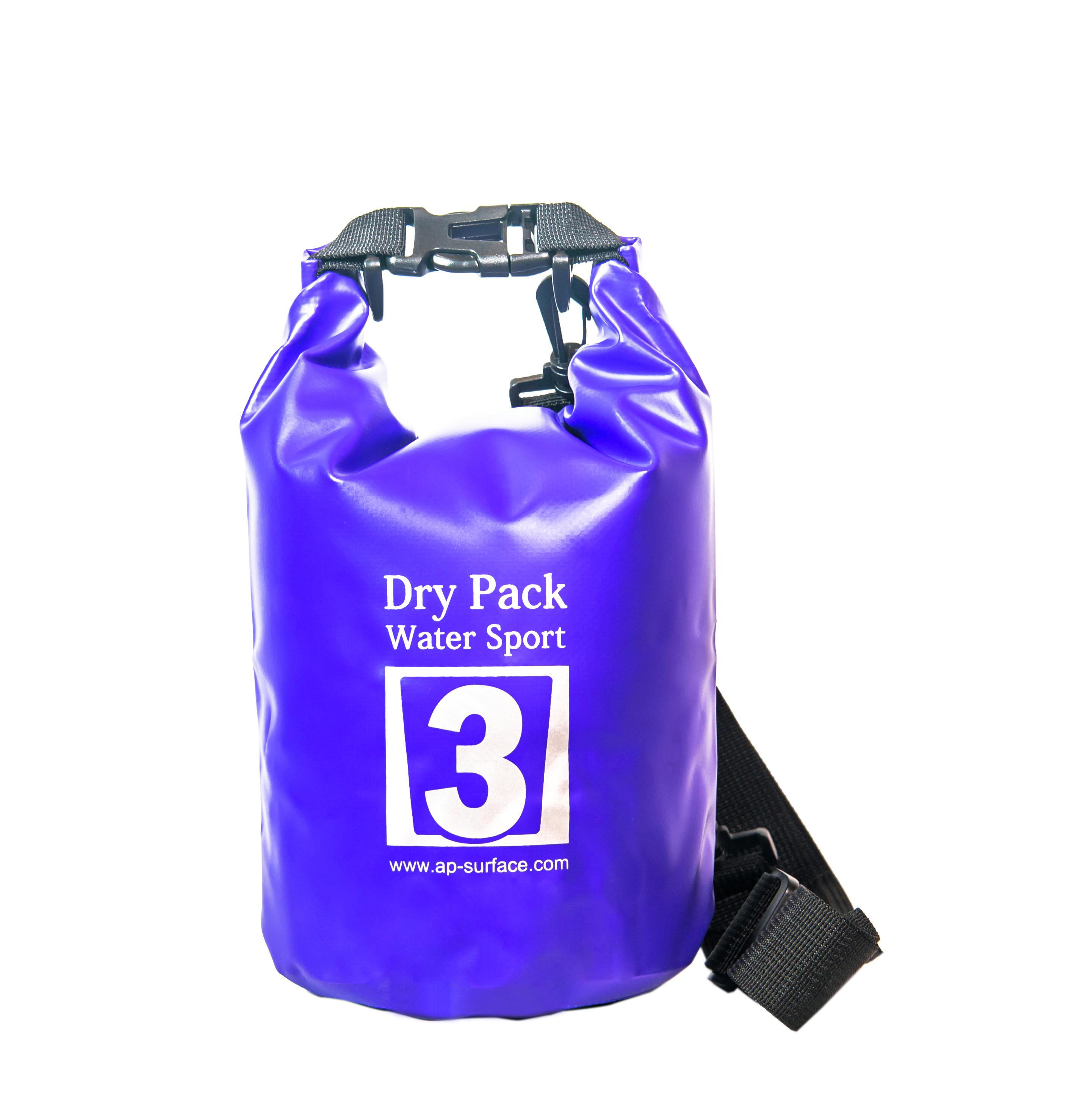 กระเป๋ากันน้ำ Dry pack 3L- สีน้ำเงิน