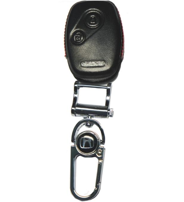 WASABI กุญแจซองหนัง 4DX Luxurious Honda City,Jazz,Civic,Brio (ดำ)