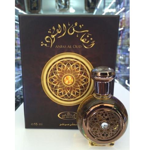 น้ำหอมอาหรับ Anfas Al Oud Perfume Oil by Al Rehab for Unisex 15ml.