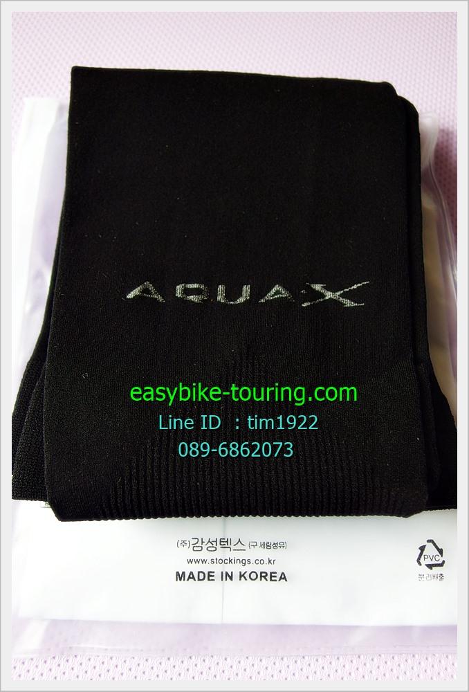 ปลอกแขน AQUA-X / สีดำ / Made in Korea