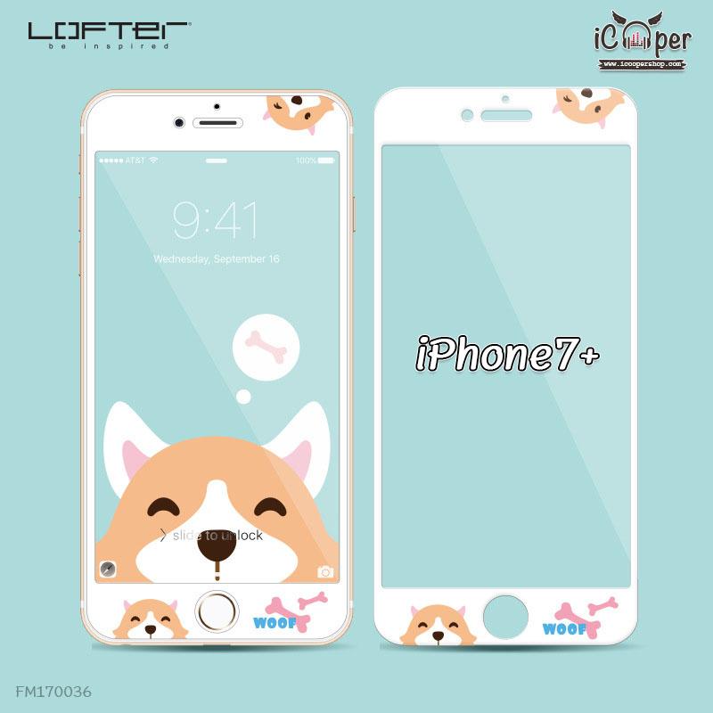 LOFTER White Pets Full Cover - Corgi (iPhone7+)