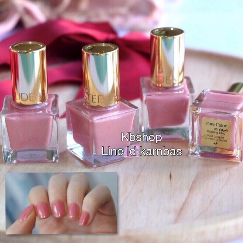 #Estee Lauder Pure color nail lacquer สี Blushing Lilac ( ขนาด 5ml.)