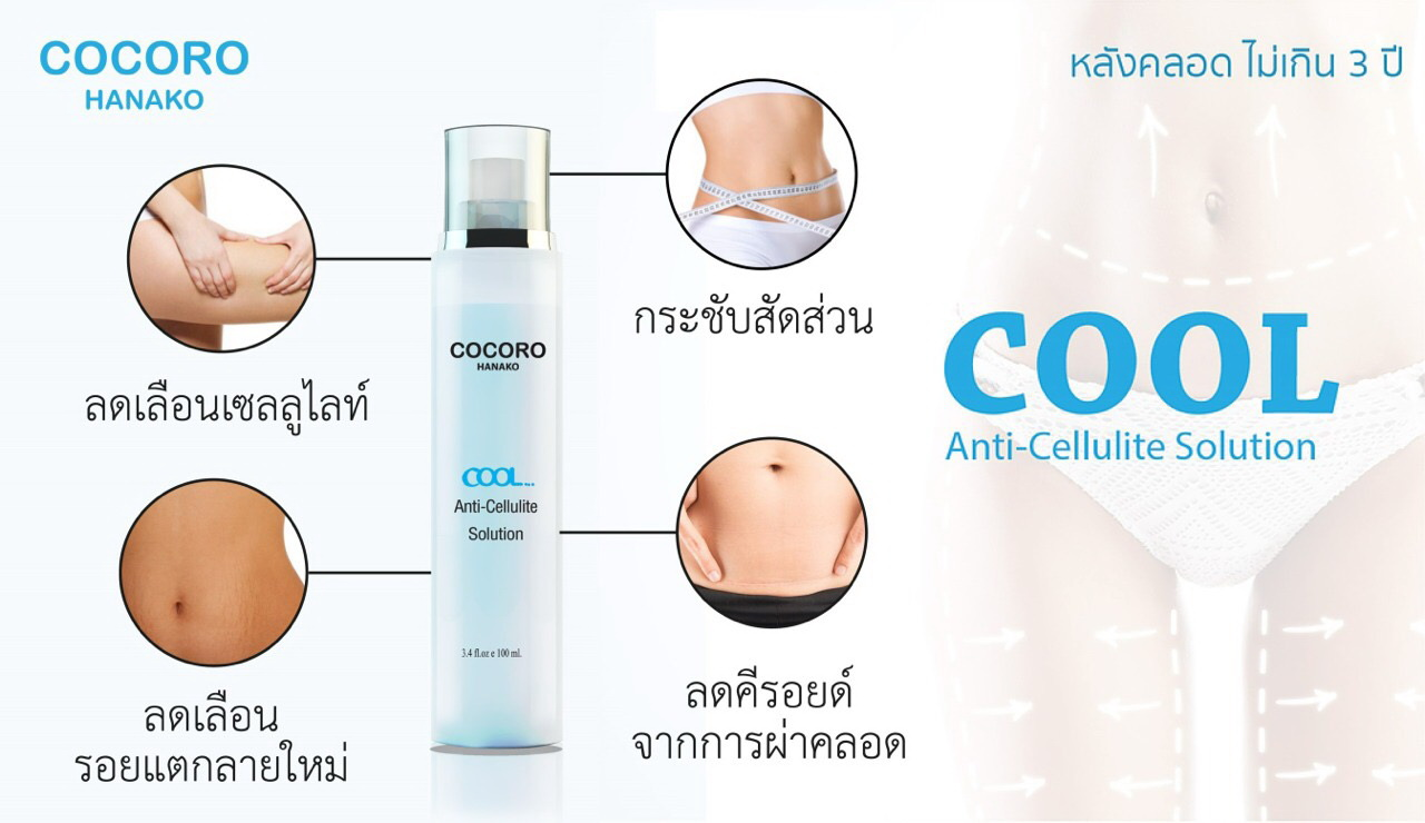 COOL Anti Cellulite ส่งฟรี Ems ค่ะ !!!