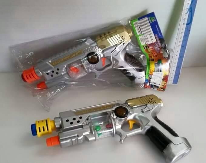 ปืนเลเซอร์ มีเสียง มีไฟ