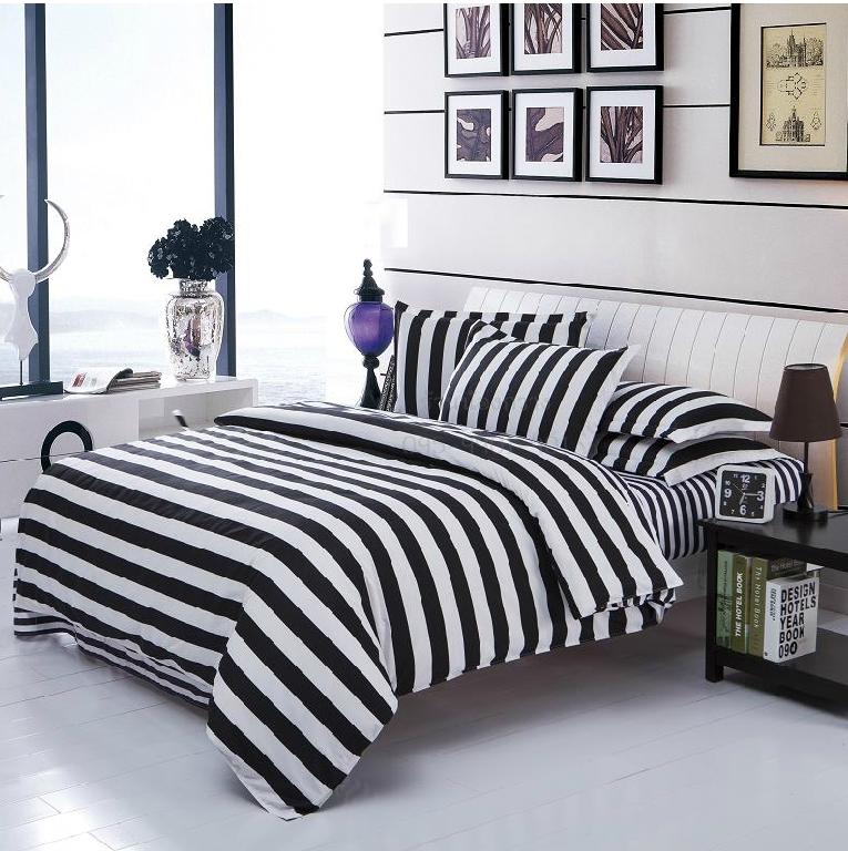 ผ้าปูที่นอน BlackWhite -5