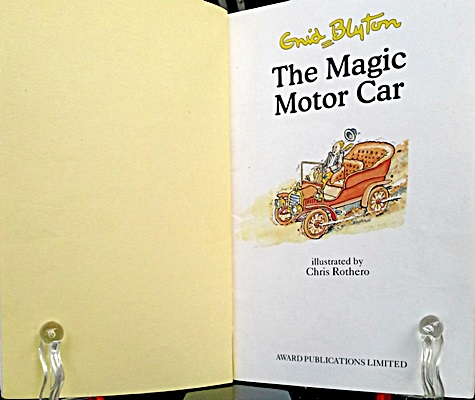 The Magic Motor Car One Book One Week Inspired By