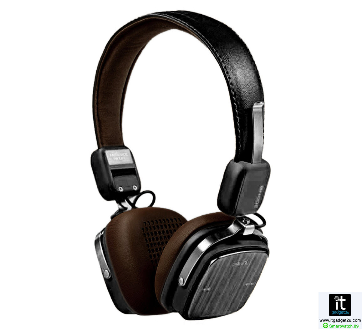 หู ฟัง บลูทูธ หูฟัง ครอบหู สเตอรีโอ Remax-200HB สีดำ ราคา 1,090 บาท
