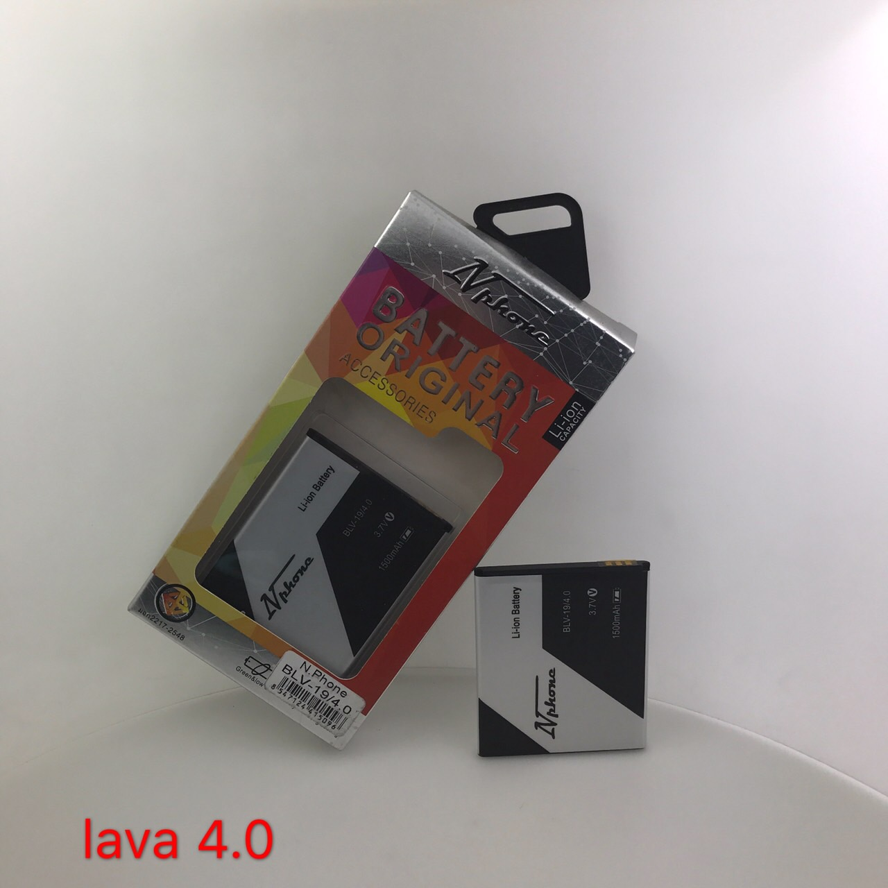 แบตเตอรี่ Lava 4.0 // BLV-19