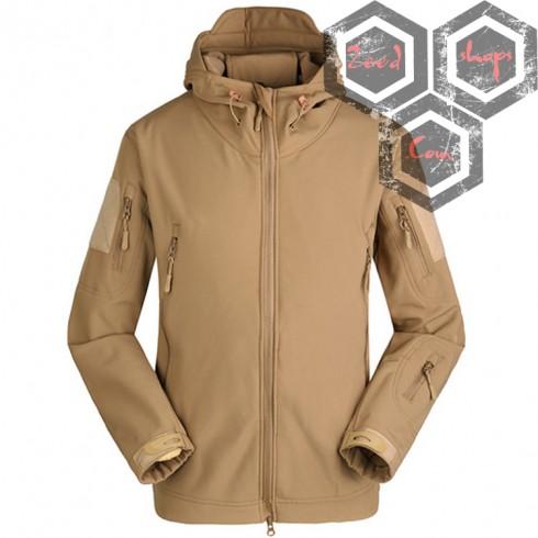เสื้อแจ็คเก็ตแทดเกียร์ ทราย