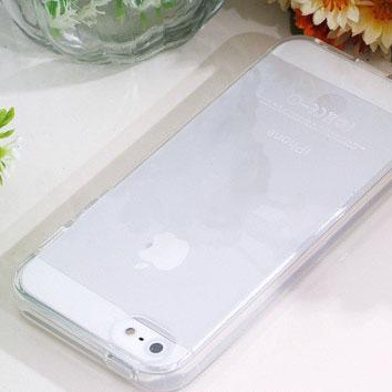 เคสใส TPU (ยางหนา 2mm) - iPhone4