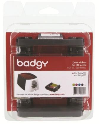 หมึกพิมพ์ และ บัตร PVC 0.76 เครื่องพิมพ์บัตร Evolis รุ่น Badgy 100 และ Badgy 200