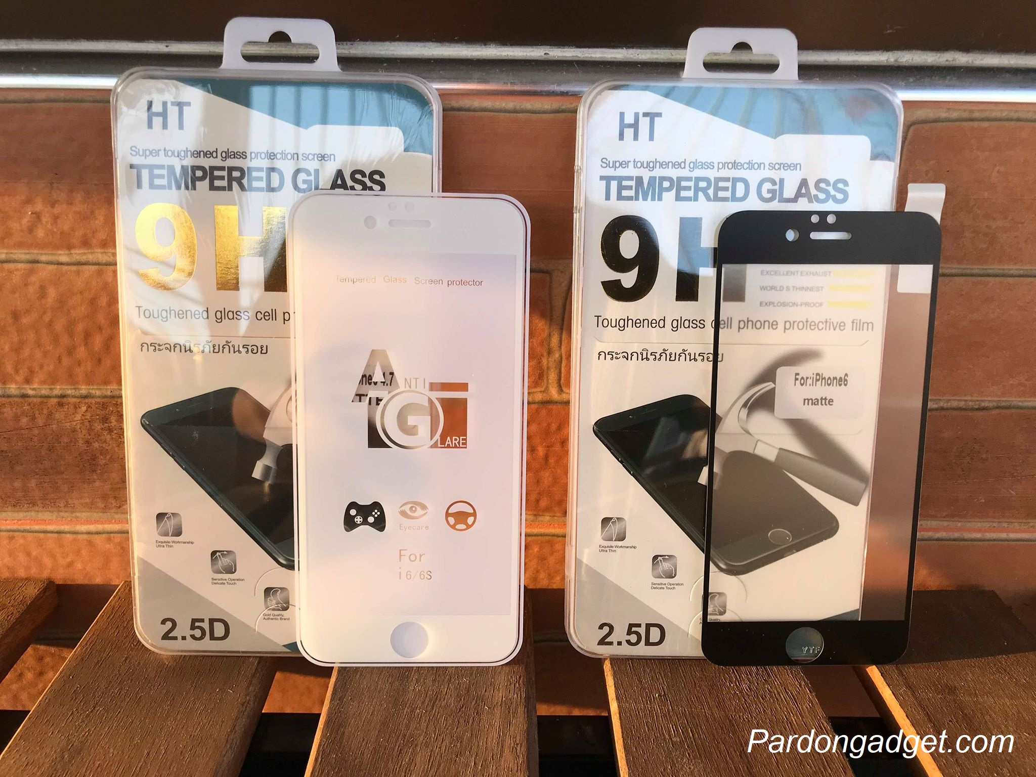 ฟิล์มกระจกด้านเต็มจอ Iphone 6/6S