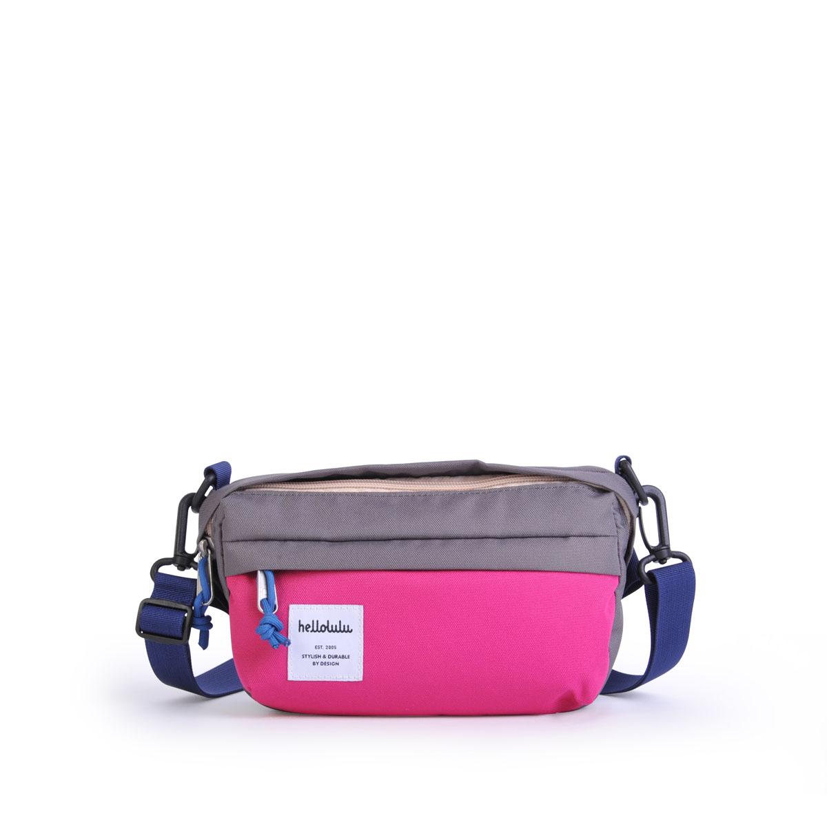 Hellolulu รุ่น HOLLIS - Gray/Pink