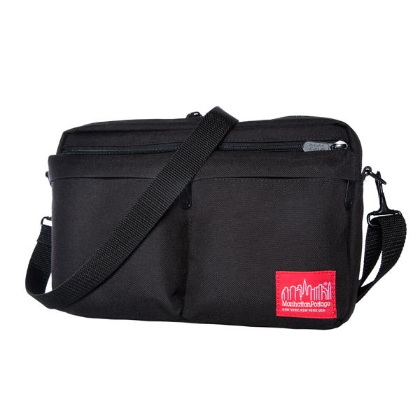 Manhattan Portage Albany Shoulder Bag - Black