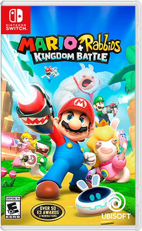 Switch- Mario + Rabbids Kingdom Battle