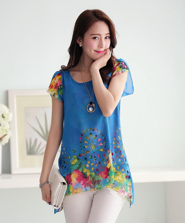 รหัส SL9715 Koreaclosetเสื้อสตรี