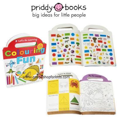 สมุดระบายสี Let's Go Learning Colouring Fun