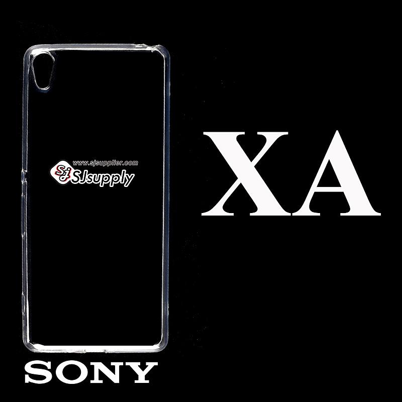 เคส Sony XA ซิลิโคน สีใส