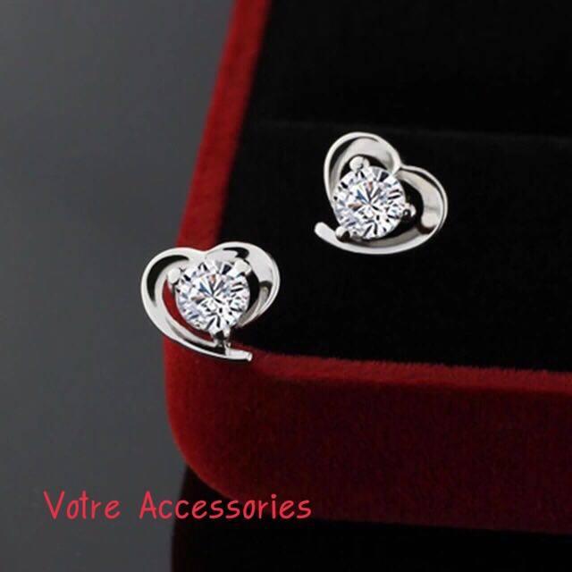 Love Crystal Earings