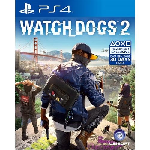 PS4: Watch Dogs 2 (Z2) [ส่งฟรี EMS]