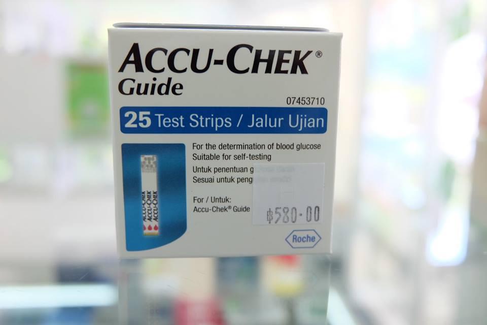 แถบตรวจ ACCU-CHEK GUIDE 25'S