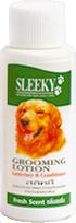 โลชั่นบำรุงขนสุนัข SLEEKY สีเขียว-กลิ่นสดชื่น ขวดเล็ก 40 ซีซี