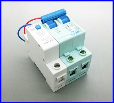 เซอร์กิตเบรกเกอร์ อุปกรณ์ป้องกันไฟฟ้า TOMZN Circuit Breaker DZ47-63 C63A P2