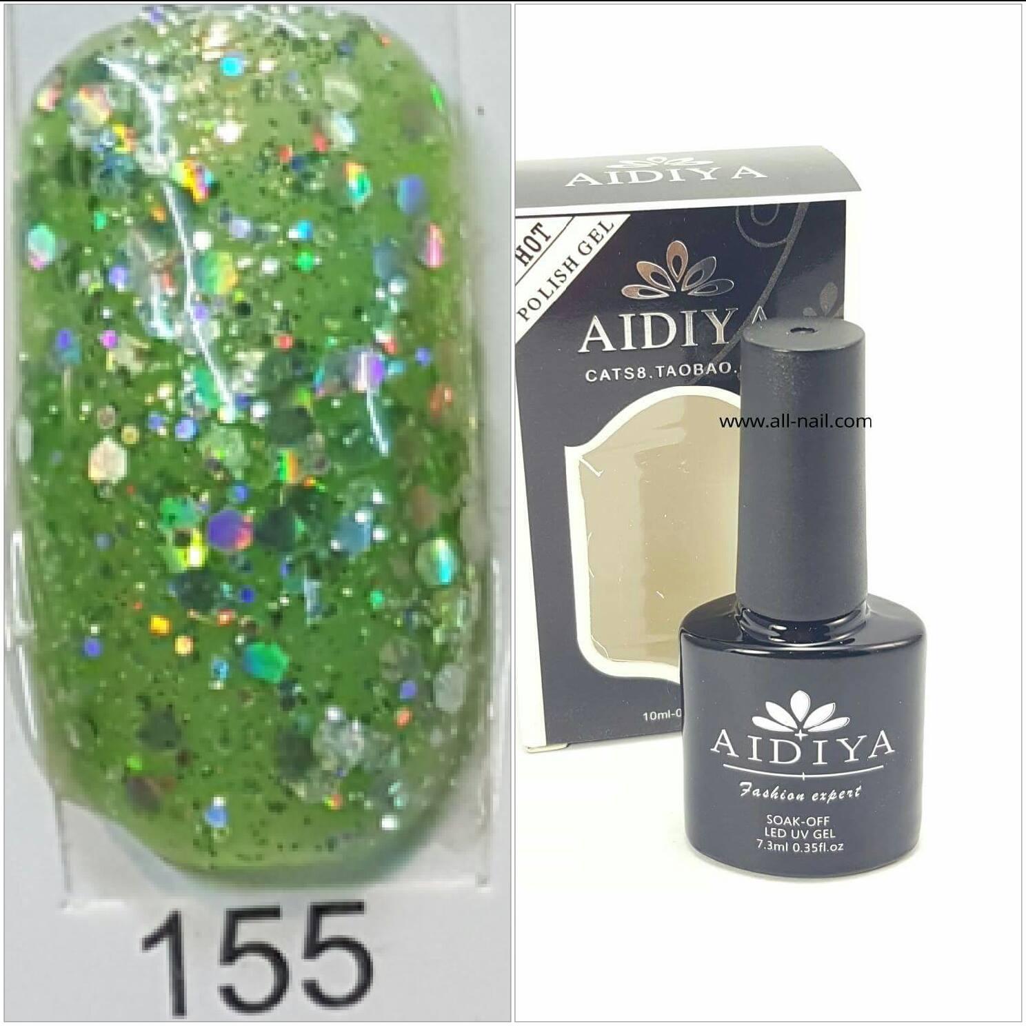สีเจลทาเล็บ AIDIYA #155