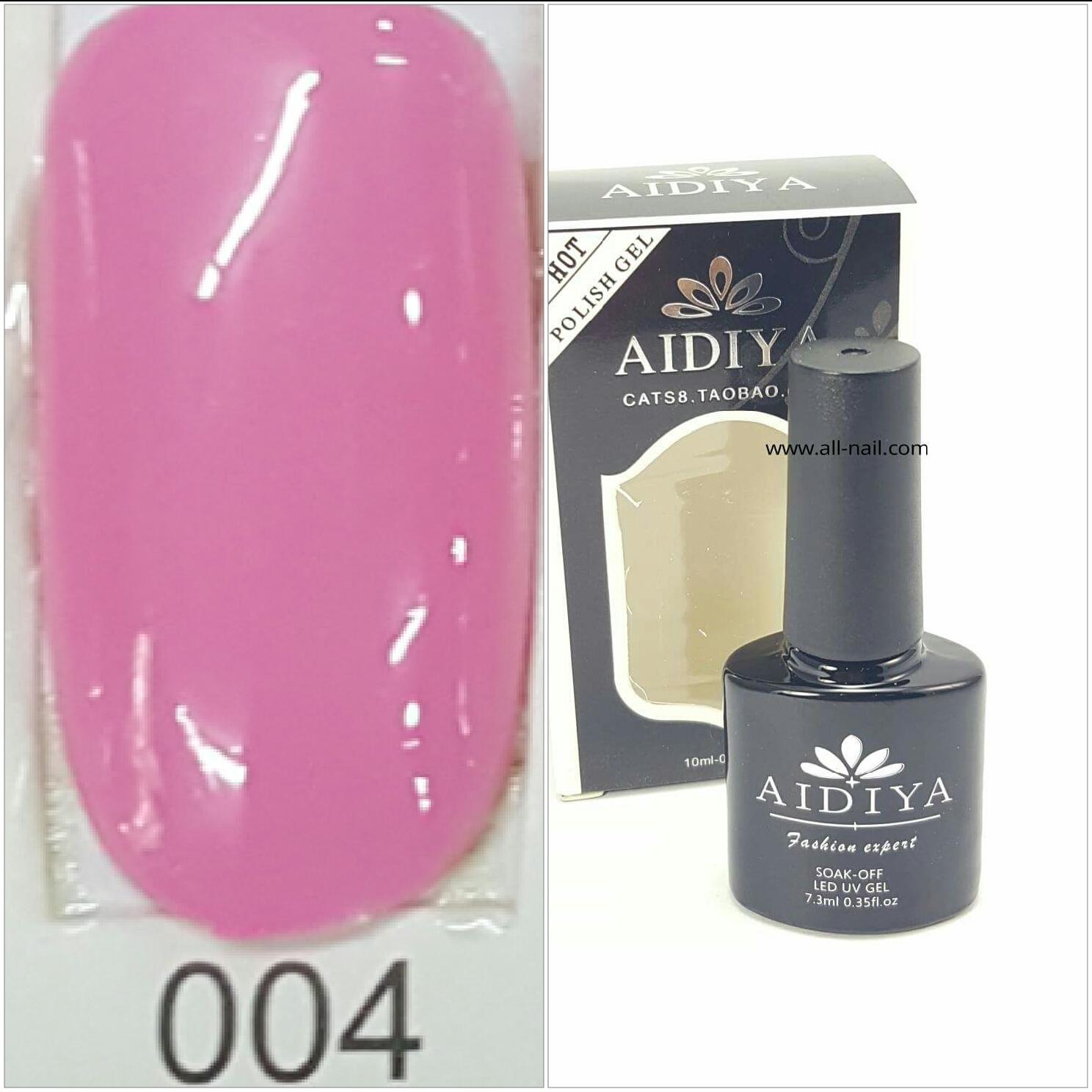 สีเจลทาเล็บ AIDIYA #004