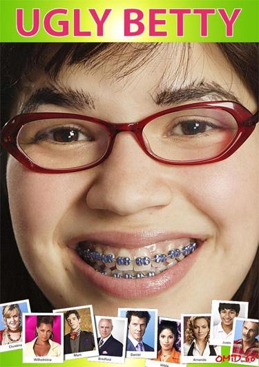 Ugly Betty Season 1 / อั๊กลี่ เบ็ตตี้ สาวเปิ่นขอเดิ้น ปี 1 / 6 แผ่น DVD (บรรยายไทย)