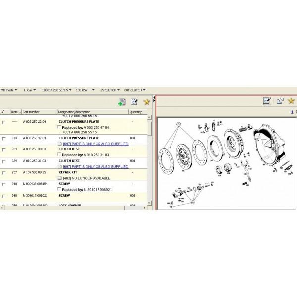 โปรแกรมรวม พาทแคตตาล็อค BENZ V.2010 (SMART)