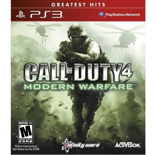 PS3: Call of Duty 4 Modern Warfare - Greatest Hits (Z1) [ส่งฟรี EMS]