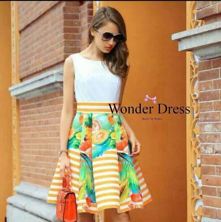 SUMMER DRESS ORANGE SWEETY