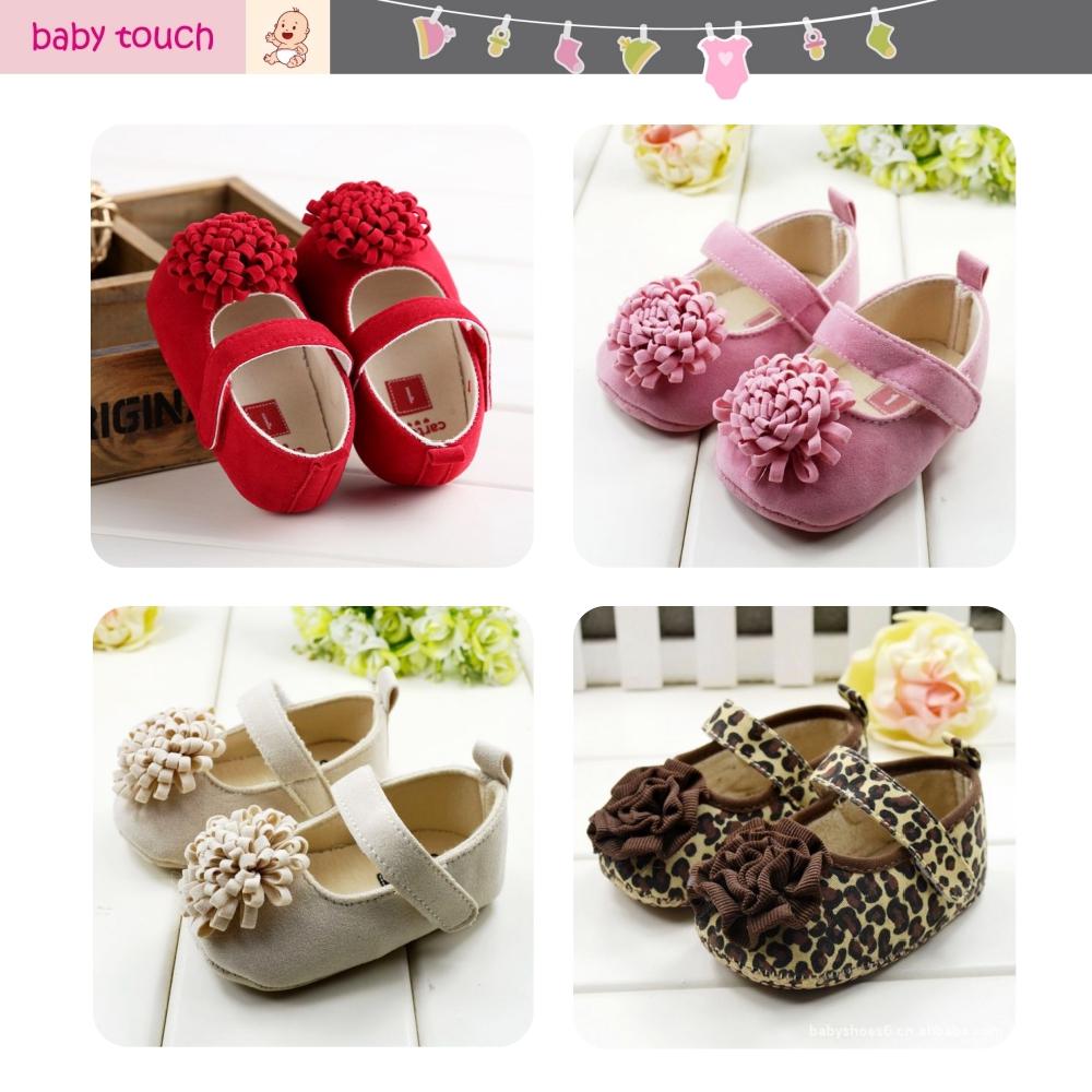 Baby Touch รองเท้าหัดเดิน ติดพู่ (Shoes - FG7)