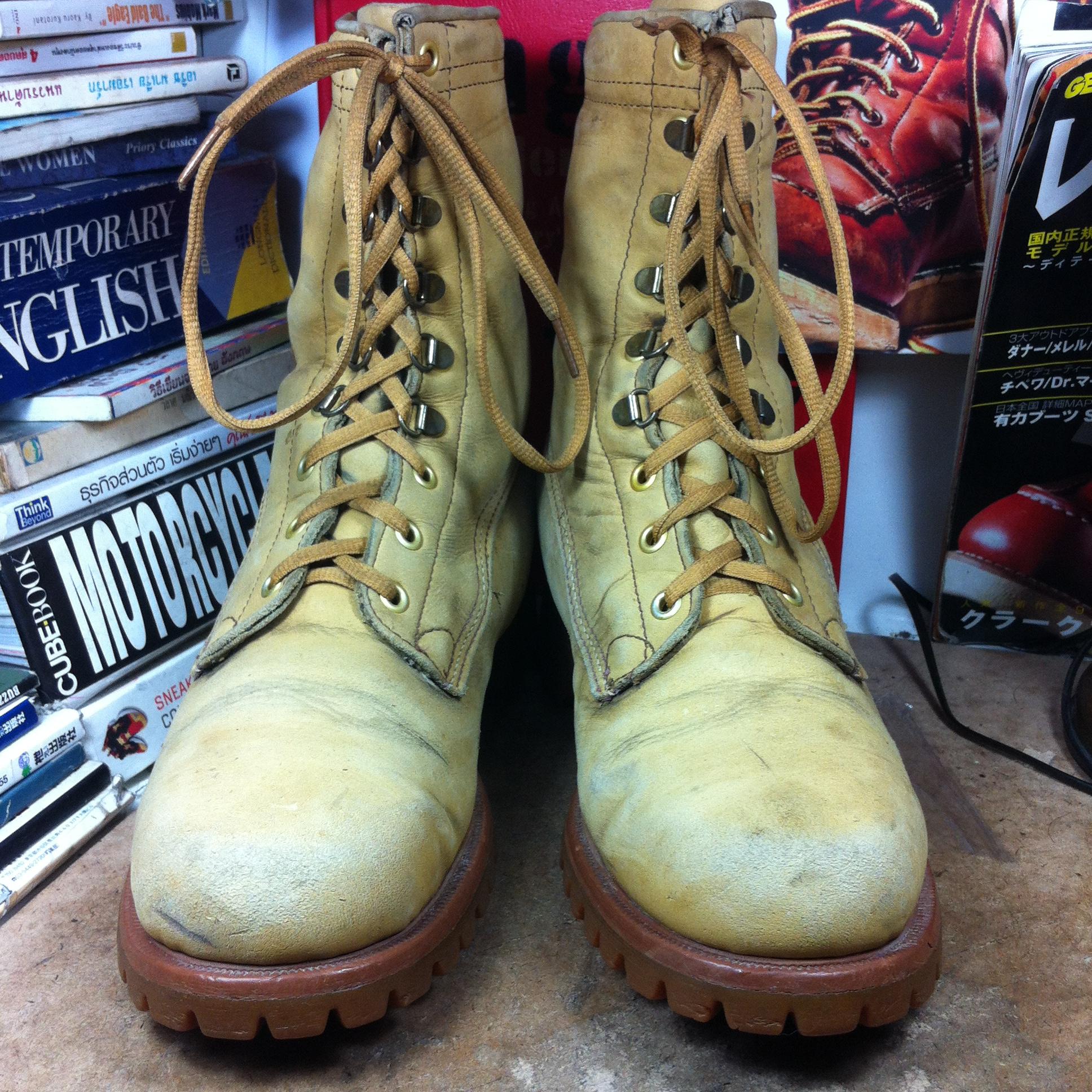 รองเท้า หนัง แนว waterproof