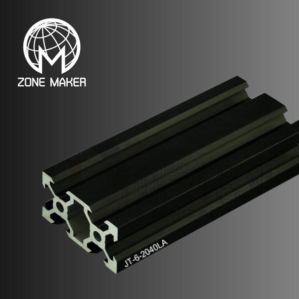 V-Slot อลูมิเนียมโปรไฟล์ 2040 สีดำ (ราคา/10cm)