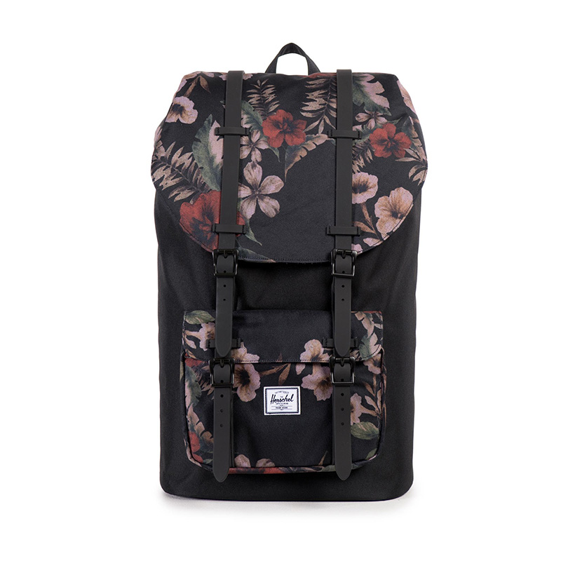 Herschel Little America - Hawaiian Camo/Black Rubber