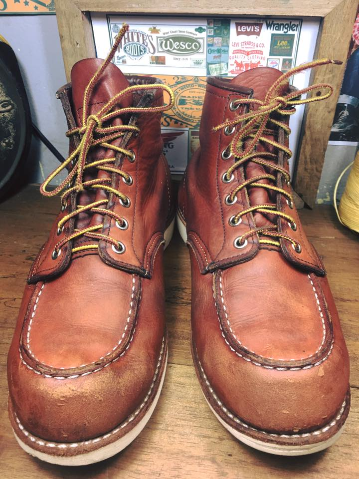 85 . Vintage RED WING 9016 เบอร์ 10D