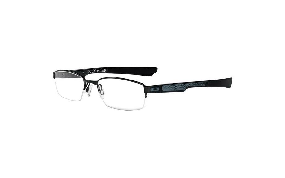 กรอบแว่นสายตา Oakley Double Tapเฟรม Black (ขนาด 53-18-145)