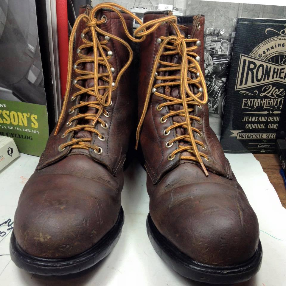 Red wing vintage safety 1980 size 11