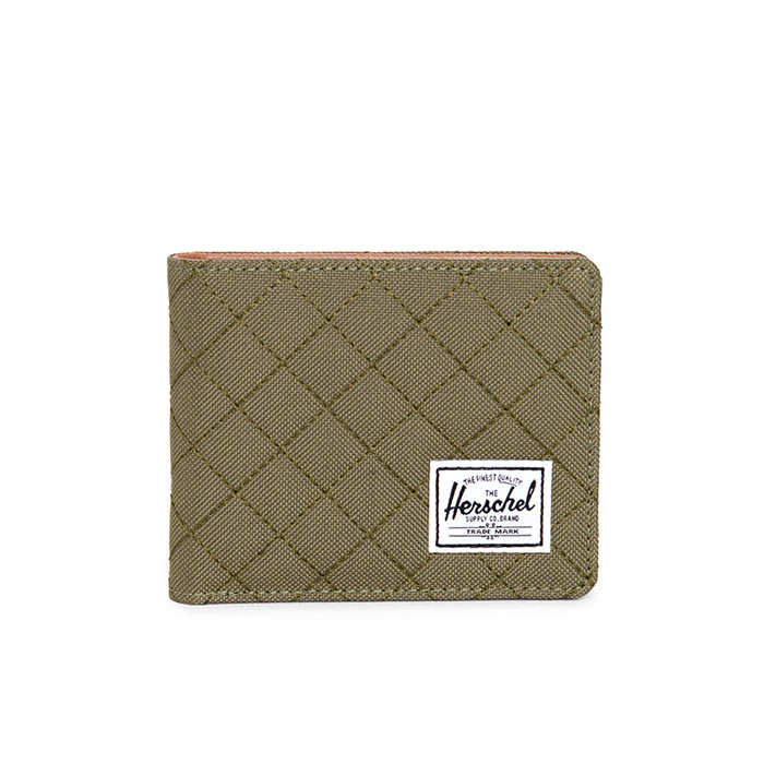 Herschel Hank Wallet - Quilted Army