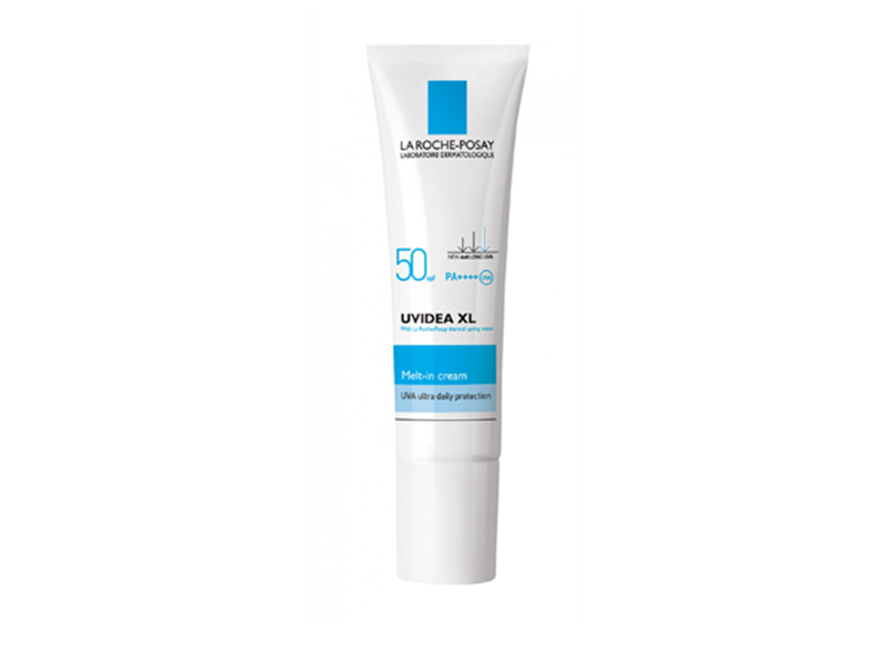 LarochePosay UVIDEA XL MELT-IN CREAM - SPF 50/PPD26/ PA++++ ลาโรช โพเซย์ ยูวีเดีย เอ็กซ์แอล เมต อิน ครีม เอสพีเอฟ50 พีพีดี26 พีเอ++++ขนาด 30 ml. ครีมกันแดดเนื้อบางเบา ค่า SPF สูง สำหรับผิวหน้า สูตรป้องกันการเกิดฝ้า กระ จุดด่างดำ 30 มล.