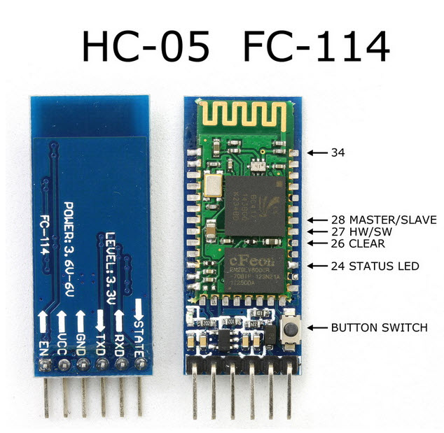HC-05 Bluetooth Serial Module RS232 TTL
